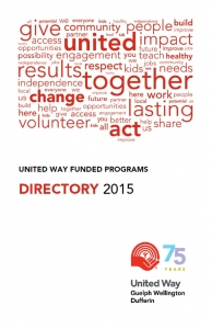 united way funded programs directory 2015