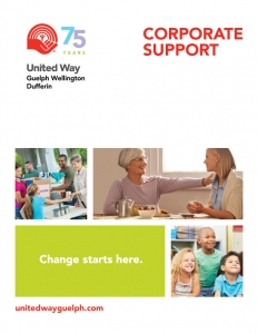 corporate support from united way