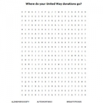 United Way Word Search Thumbnail