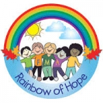 rainbow of hope logo