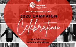 2020 United Way Campaign Celebration