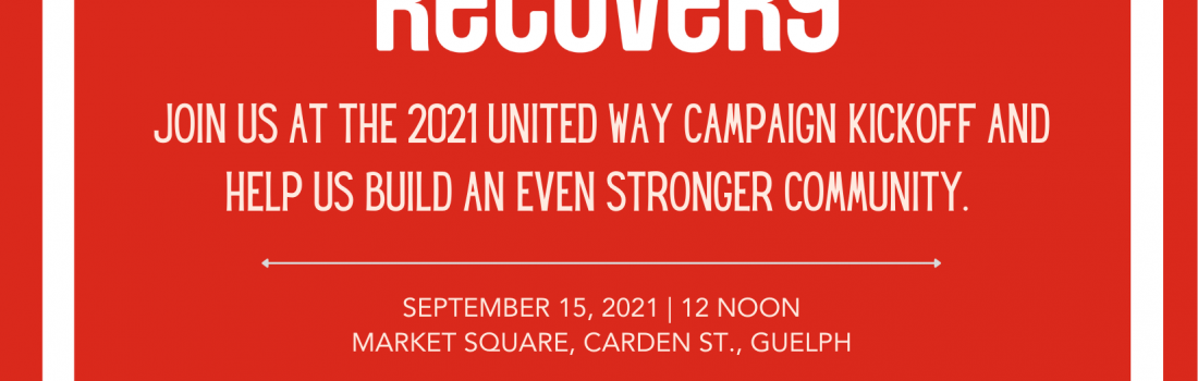 Join us for the 2021 United Way Campaign Kick-off!