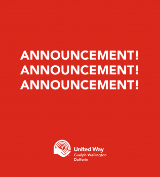 Media Release: United Way Announces Patricia Tersigni as 2021 Campaign Chair