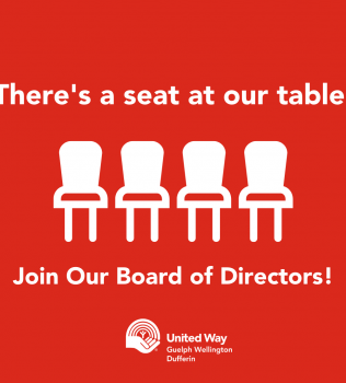There's a seat at our table –  Join our Board of Directors!