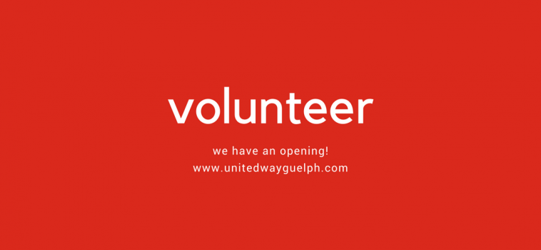 Volunteer Opportunity!