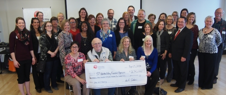 United Way invests in 92 local social service programs