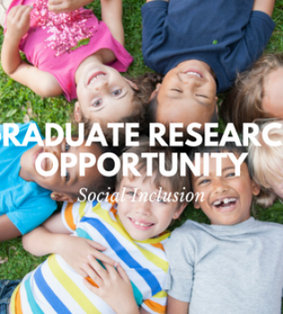 Social Inclusion Graduate Research Opportunity