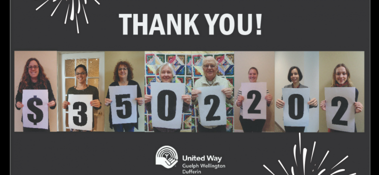 United Way goes beyond $3.5 million goal!