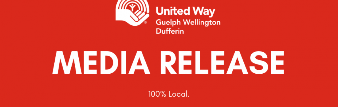 Media Release: Leadership Change at United Way