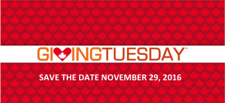 Giving Tuesday – November 29
