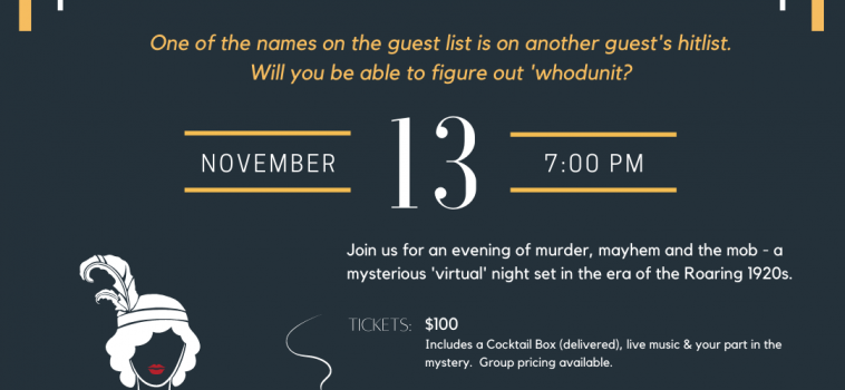 Murder at the Juice Joint – A United Way Speakeasy Event