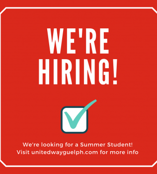 We're hiring a Summer Student!